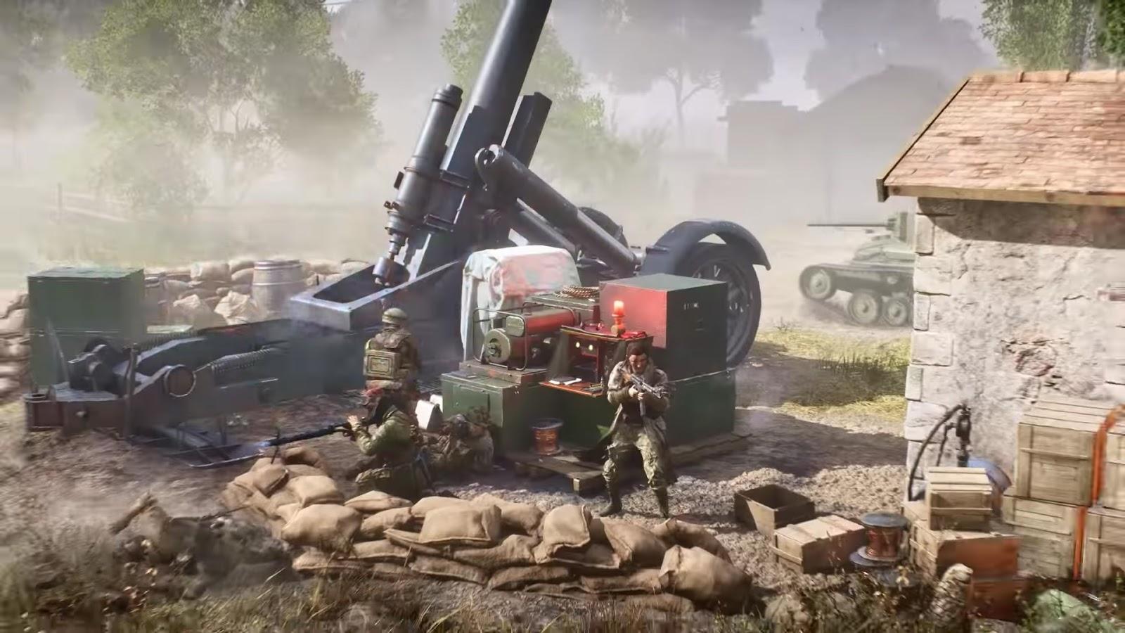 Modo de jogo Rush suportará 32 jogadores no Battlefield V