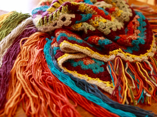 Bohemian Shawl Fringes