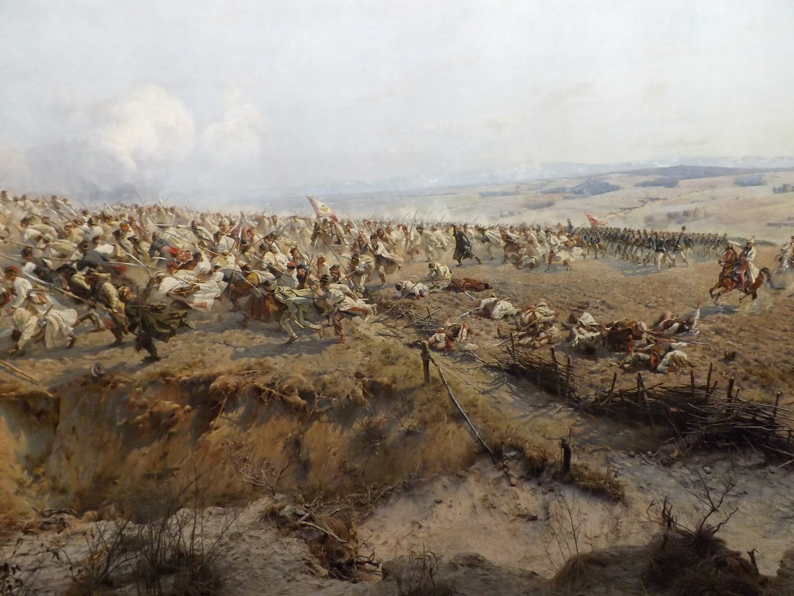 fragment wrocławskiej Panoramy Racławiciej