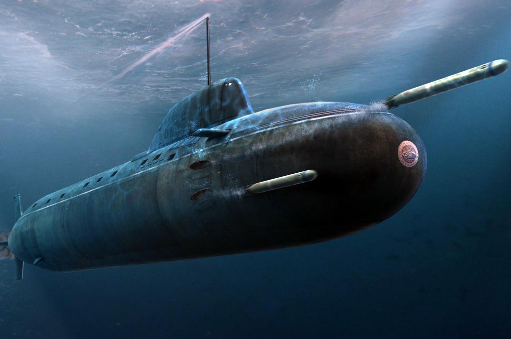 """الغواصات النووية الهجومية..للبحرية السوفييتية .""""الجزء الاول """" 885_150207_01"""