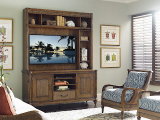 tommy bahama medid cabinet and chair