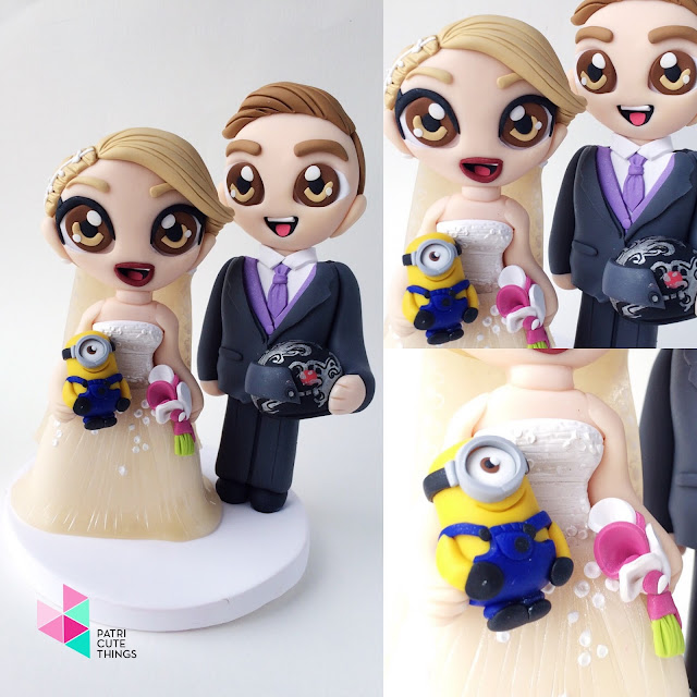Muñecos tarta boda personalizados