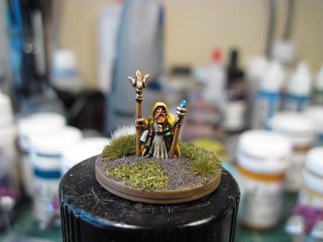 Warmonger Miniatures Battle Wizard