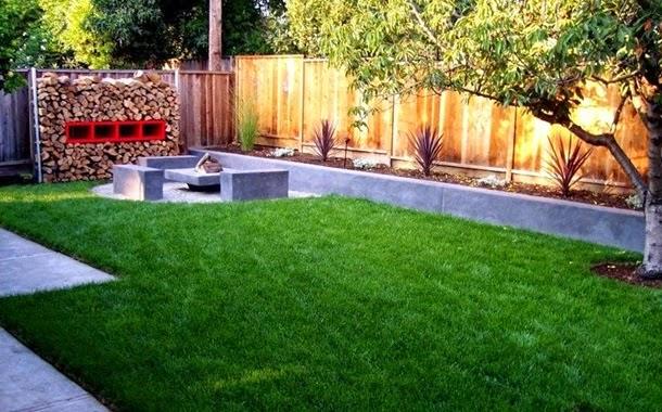 Дизайн двора частного дома (60 фото создаем красивый) 35