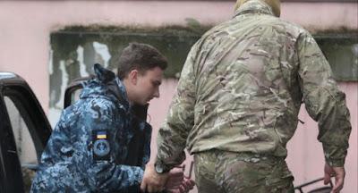 ФСБ РФ не считает украинским моряков военнопленными