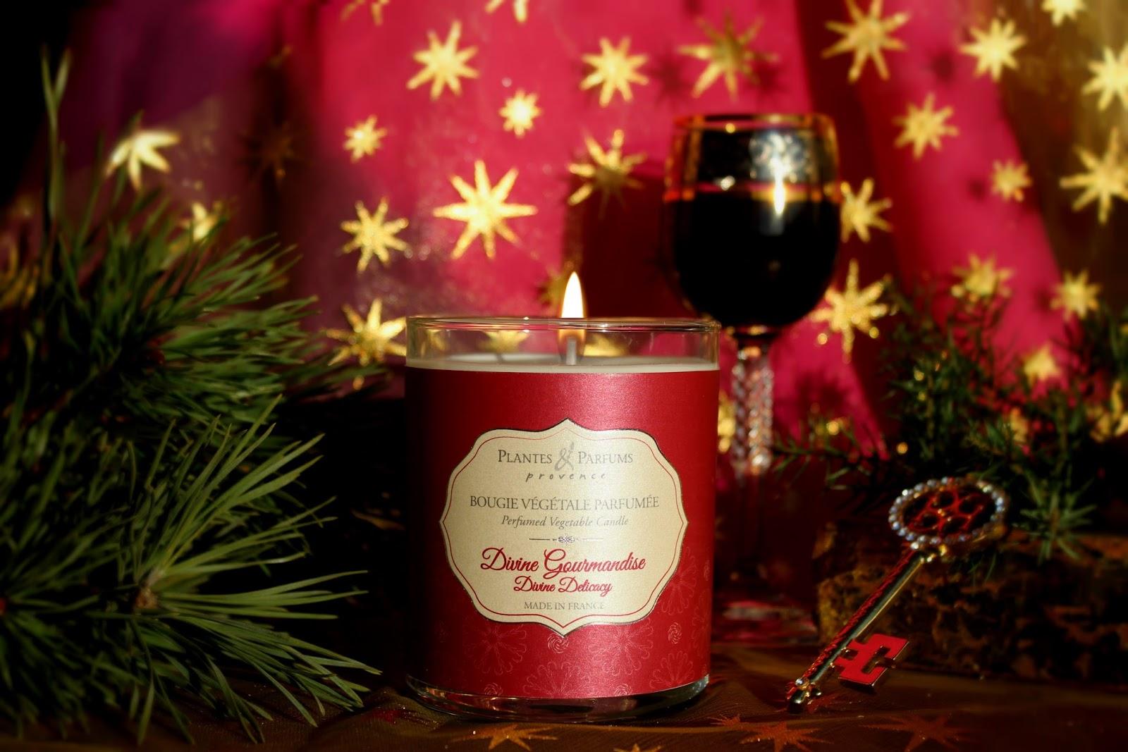 plantes et parfums de provence divine gourmandise perfumed candle. Black Bedroom Furniture Sets. Home Design Ideas