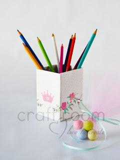 μπομπονιερα-βαπτισης-μολυβοθηκη-κουτι-κοριτσι-κορωνα-πριγκιπισσα-λουλουδια