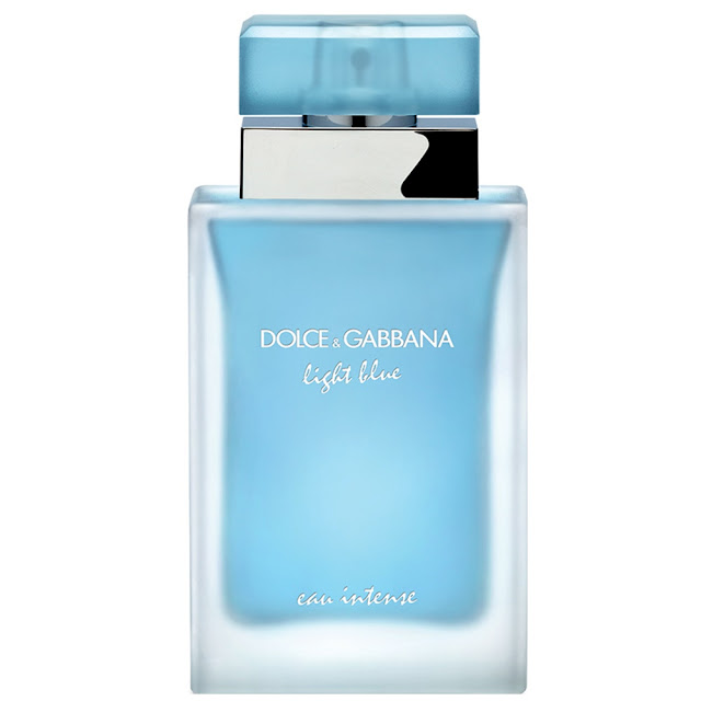 Flakon perfum marki Dolce&Gabbana Light Blue Eau Intense o pojemności 100 mL