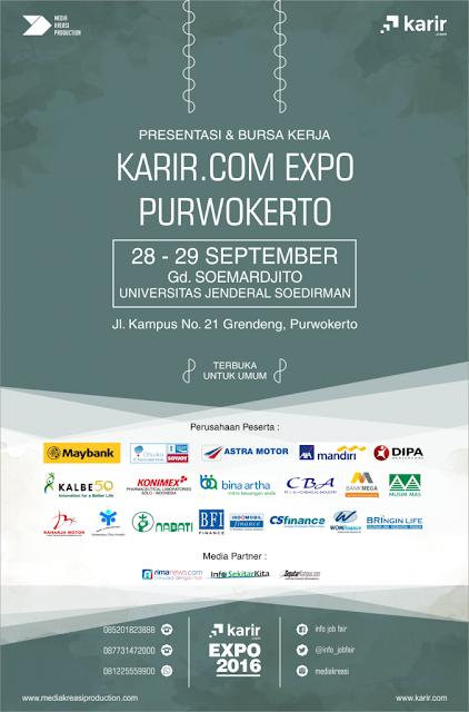 Job fair Purwokerto - Karir.com Expo 2016