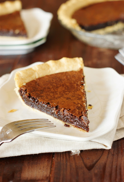 Chocolate Fudge Pie photo