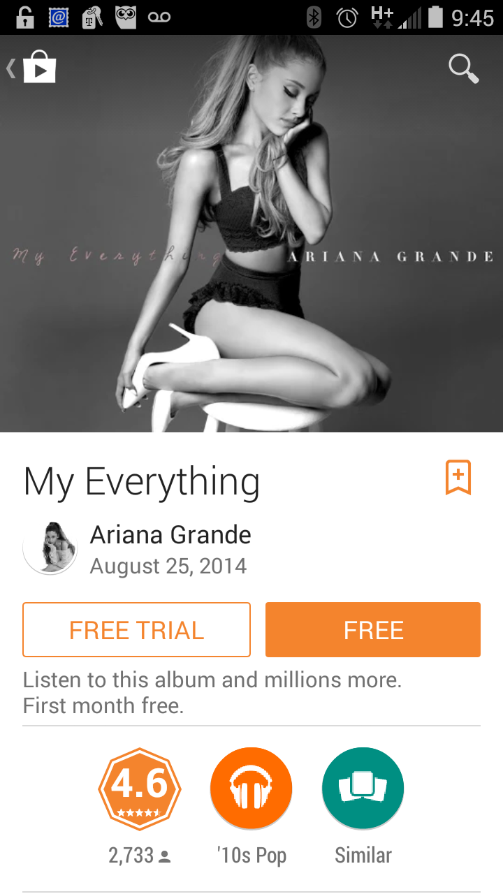 """And Everything Else Too All Kinds Of Neighbors: FREE IS MY LIFE: FREE MP3 ALBUM: """"My Everything"""" By Ariana"""
