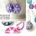 How to Make Snowflake Resin Jewelry Tutorial