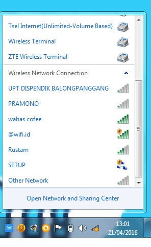 Software bobol wifi orang lain