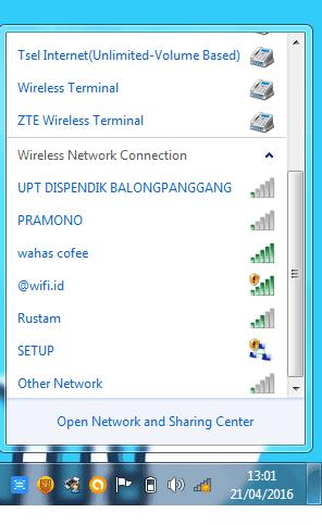 cara hack wifi indihome orang lain