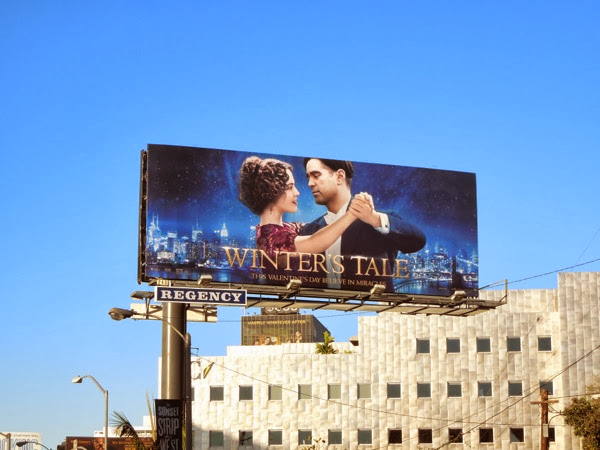 Winters Tale film billboard