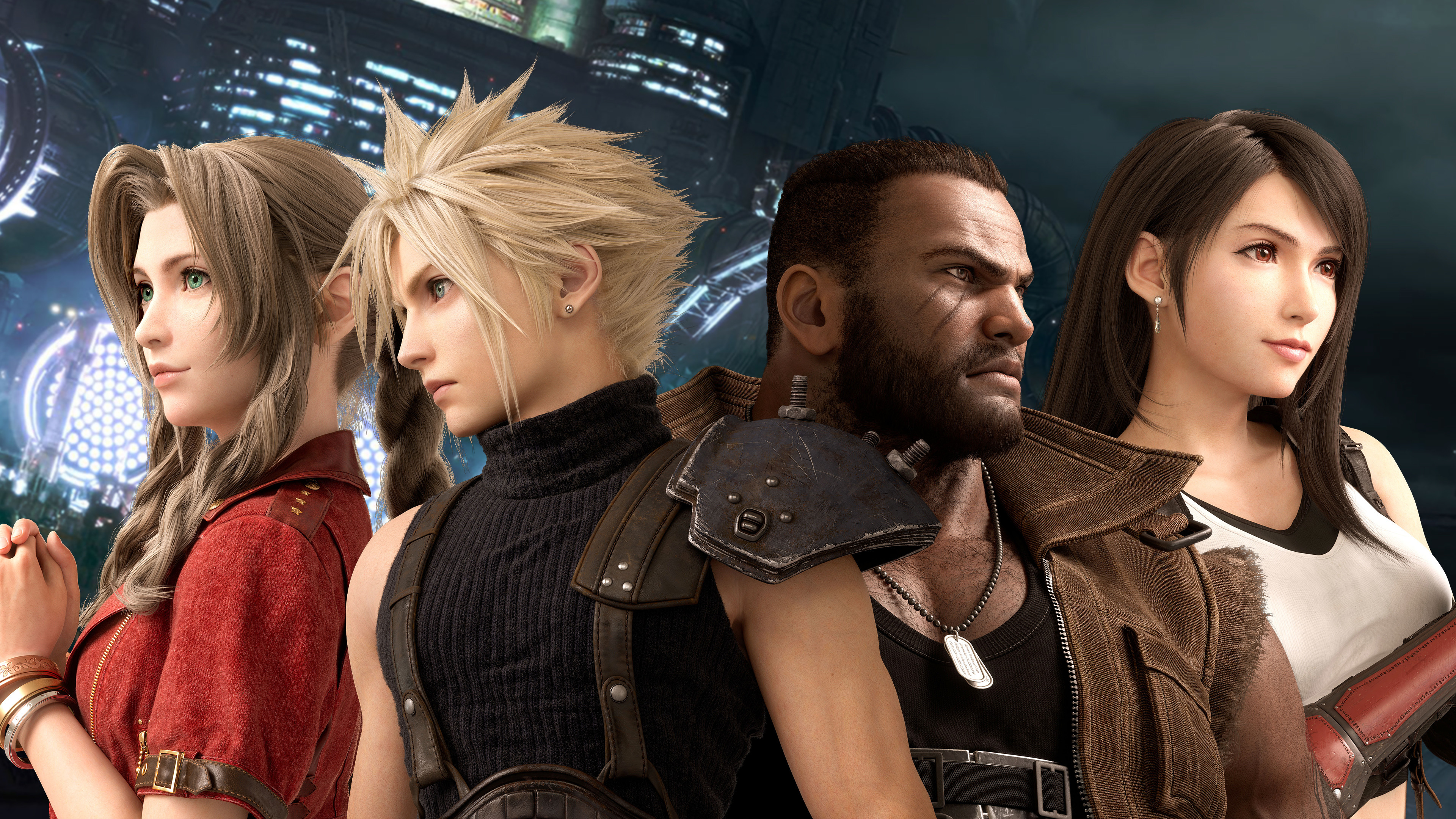 Final Fantasy 7 Remake, Characters, 4K, #39 Wallpaper