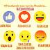 Tombol like baru dengan emotikon mirip path di facebook reaction versi islam