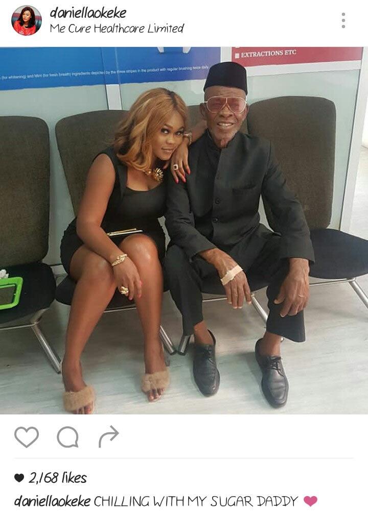 Wait, Daniella Okeke shows off her sugar daddy?