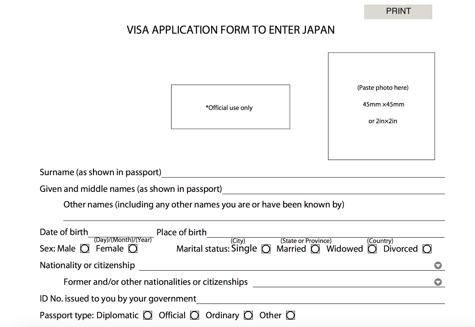 How To Apply For A Japanese Tourist Visa Unemployed And No Guarantor