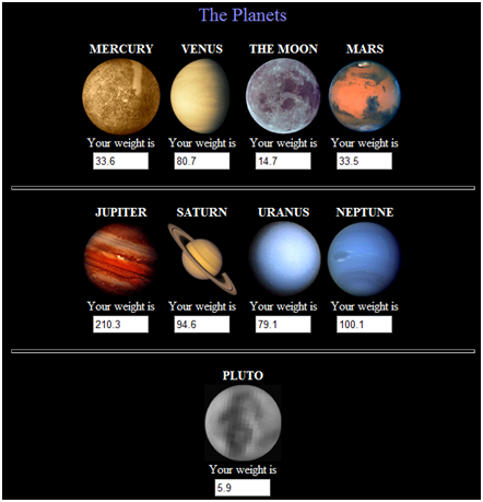 different planets in solar systems - photo #14