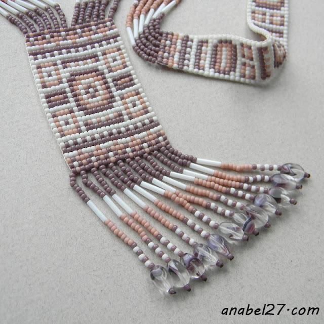 бисер герданы бисерные традиционные славянские украшения