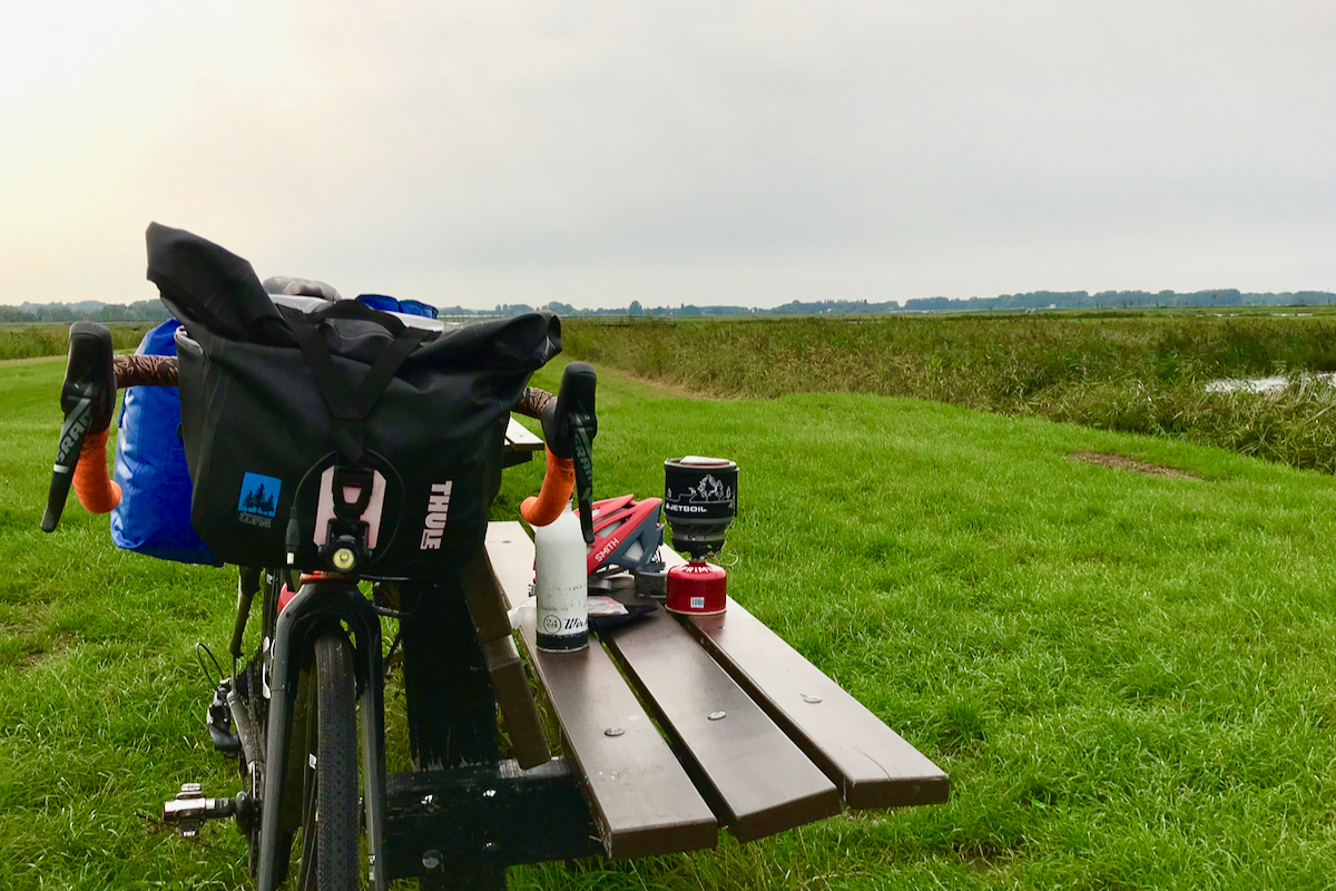 Coffee Outdoors Bike Touring