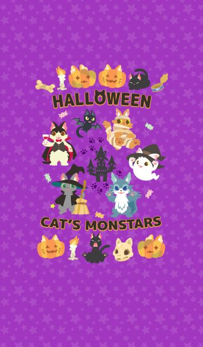 Halloween Cat's Monstars Theme