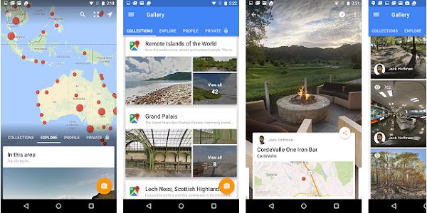 Aplikasi GPS Google Street View