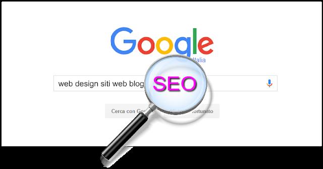 SEO web design siti web blog pagine online formazione comunicazione