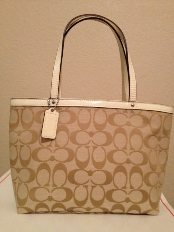 ... get coach signature top handle tote bag 47472 5ec98 4e6bd ... cb97e725cae1c