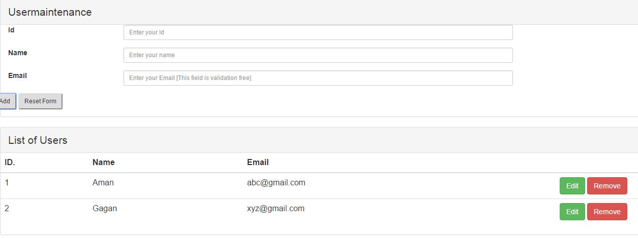 Java Today: RESTful WebService using Jersey, AngularJS