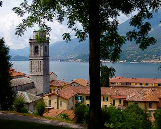 Town Bellagio Lake Como Italy