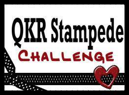 Winner QKR Stampede for Brother's Birthday Card 2016