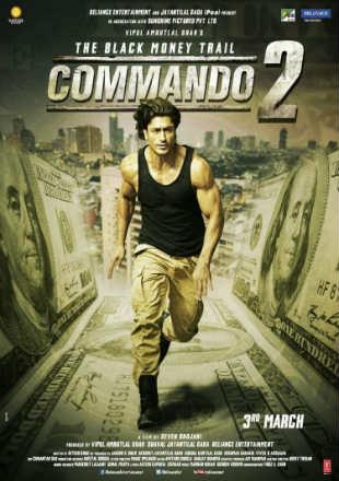 Commando 2 2017 Full Bollywood Hindi Movie Download DVDRip