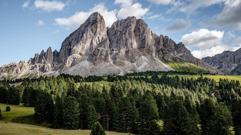 Landscape from Badia, Italy