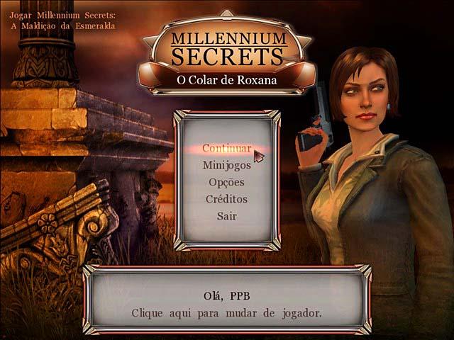 Millennium Secrets - O Colar de Roxana