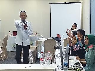 KPU Kota Jambi Gelar Bimtek Uji Coba Situng Ke III Serentak Se-Indonesia.