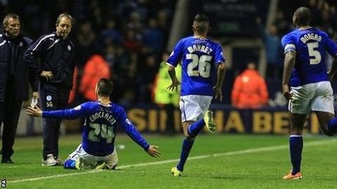 Leicester City xuất sắc giành vé lên hạng