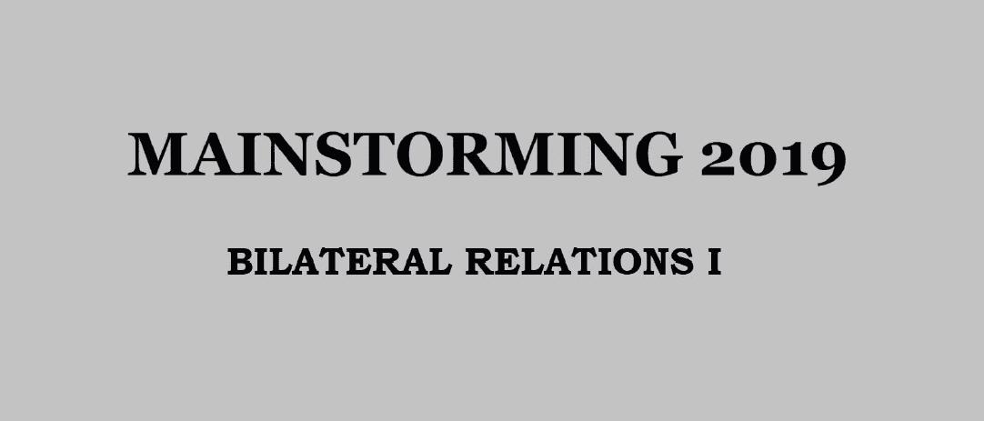 Bilateral Relations I - Download pdf