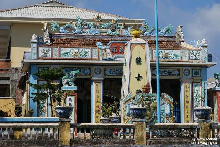 Âm linh tự, biểu trưng lịch sử ở Lý Sơn
