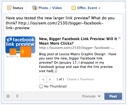 How To Post A Link On Facebook