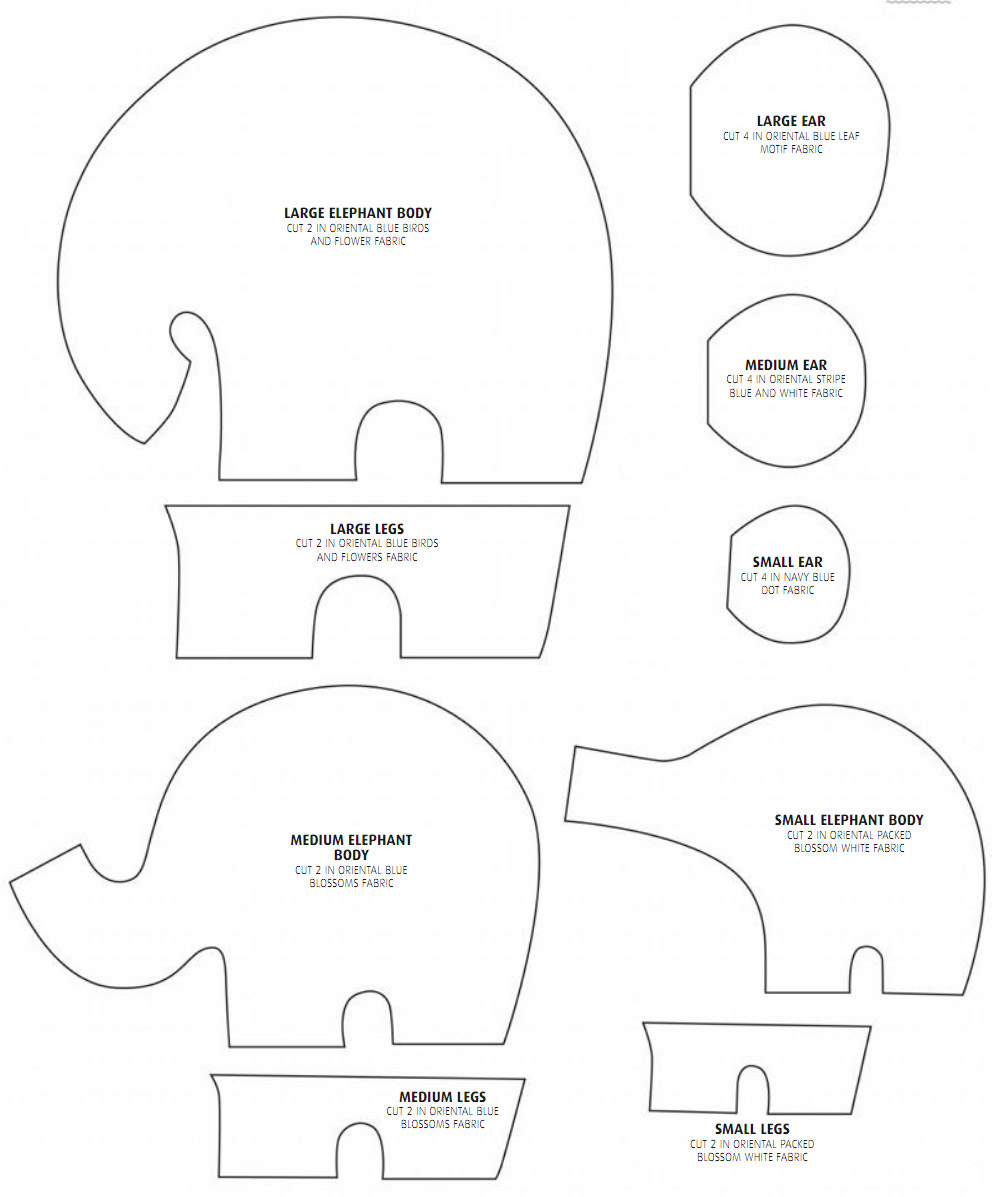 Elephantastic how to sew an elephant tutorial diy tutorial ideas how to make the elephants ccuart Image collections