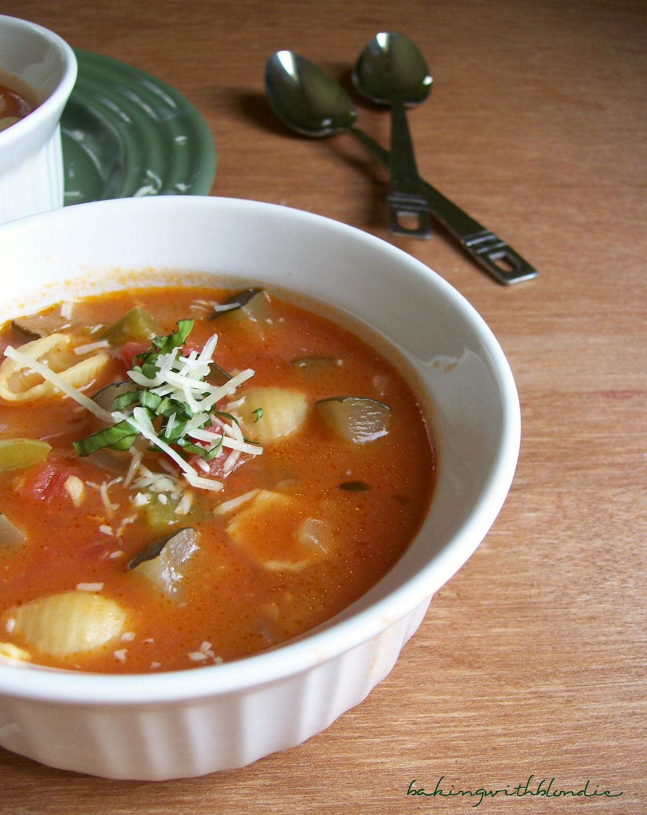 Baking with Blondie : Ratatouille Soup