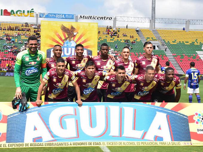 DEPORTES TOLIMA: 56,8% de rendimiento en la Liga Águila 1 2019, tras jugar la fecha 17