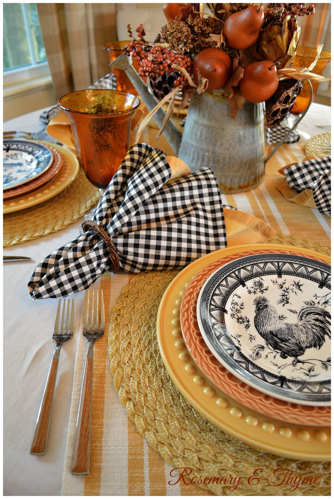 A French Country Fall Tablescape