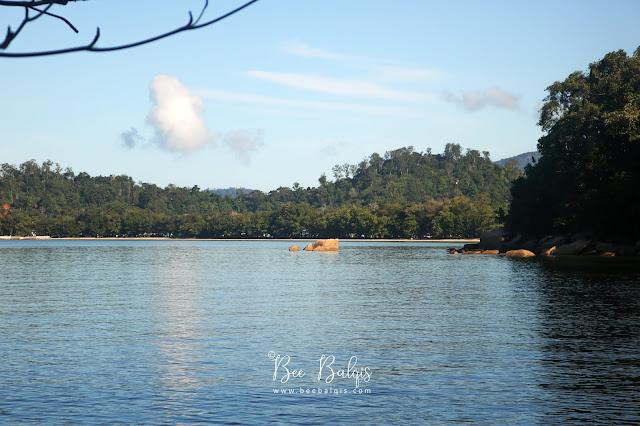 Pemandangan dari Air Intan - Taman Nasional Gunung Palung