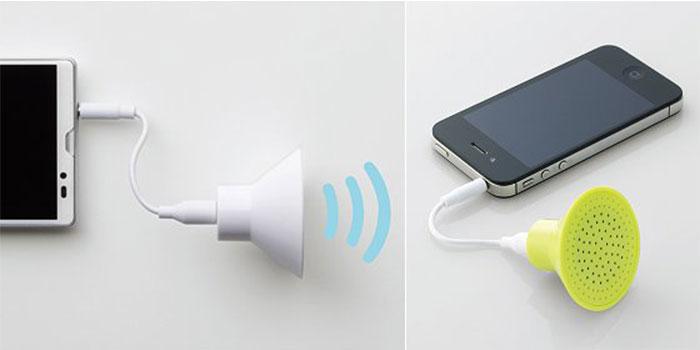 Loa nghe nhạc Elecom Compact Powered