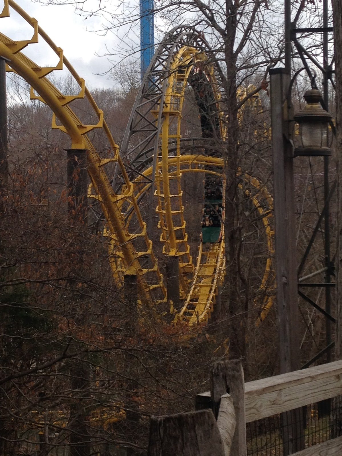 one with the wind and sky...: Busch Gardens Williamsburg 3/26/17 ...