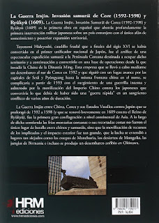 """LA GUERRA IMJIN"". Libro RESEÑA - BELLUMARTIS HISTORIA MILITAR"