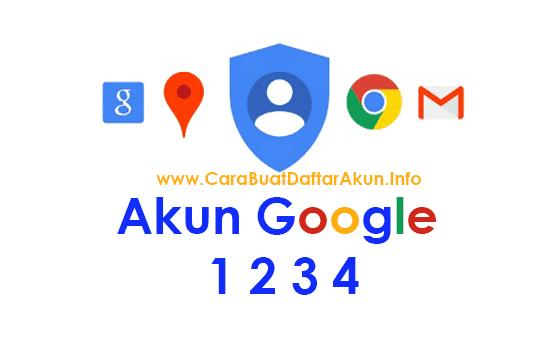 cara buat akun google baru 1 2 3 4